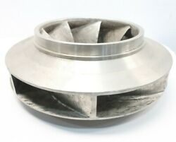 United Pumps Ha 2925 Stainless 7-vane Pump Impeller 19in Od