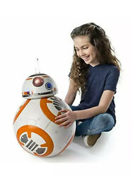 Star Wars Hero Droid Bb-8 Fully Interactive Remote Control Movie Real Life Size