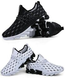 Men's Sneakers Athletic Running Casual Walking Tennis Gym Sports Shoes Eva Sole