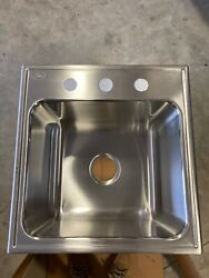 Just Manufacturing Slx2019agr3 Sink Stainless Steel