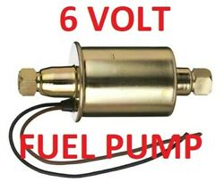 6 Volt Electric Fuel Pump For Henry J 1951 1952 1953 -can Be Assist Or Primary