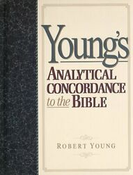 Young's Analytical Concordance To The Bible By Young, Robert Hardback Book The