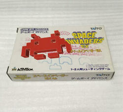 Taito Corporation Space Invaders Ex Game Boy Advance Gba 610/nk