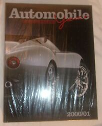 Automobile Year 2000/01 Hard Cover Book About Cars Printed In Italy Nice Book