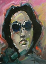 Jose Trujillo - Impressionism Oil Painting Portrait Expressionism Abstract - Art
