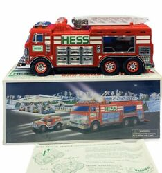 Hess Toy Truck Car Collectible Nib Box Diecast Emergency Rescue Vehicle 2005 Vtg