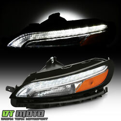 For 2014-2018 Jeep Cherokee Led Drl Parking Light Turn Signal Lamp Driver Side
