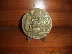 Motherand039s Day Bronze Medal Nude Mom And Son Fantastic Design