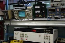 Hp Agilent 8131a High-speed Pulse Generator 500 Mhz 10 Ps Timing Test Guaranted