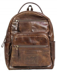 Rawlings Heritage Collection Leather Backpack Brown 15quot; $152.39