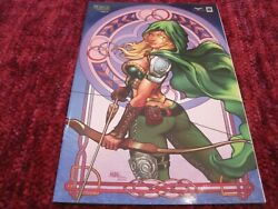 Zenescope Robyn Hood 4 Moore Nice Cover Variant- Limited To 250 Copies