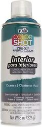 Color Shot Ocean Indoor Upholstery Fabric Paint 6 Pack 8oz Cans
