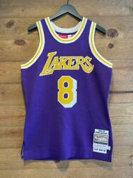 Clot X Mitchell And Ness 96/97knit Kobe Bryant Lakers Throwback Jersey Authentic