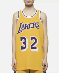 100 Authentic Clot X Mitchell And Ness Magic Johnson Lakers Jersey New With Tags