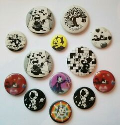 Vintage Felix The Catandnbsp Pin Back Button Pins Lot Of 13andnbsp