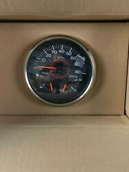 Brp Speedometer 80 Mph 3n1 Icon Basic Multi Function Fuel And Volt 5 In. Black
