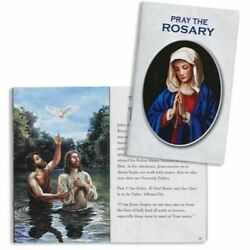 How To Pray The Rosary Booklet Home Church Rcia School