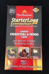 Brand New Pine Mountain Starter Logg Extreme Start Individually Wrapped