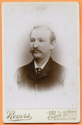 New Haven Ct Portrait Of A Young Man By Rogers Circa 1890s