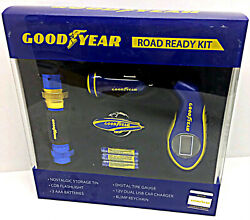 Road Ready Kit By Goodyear Collectible Gift Digital Tire Gauge Flashlight Blimp