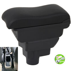 Dual Layer Armrest Box For Vauxhall Opel Corsa D 2006-2014 Console Storage Cente