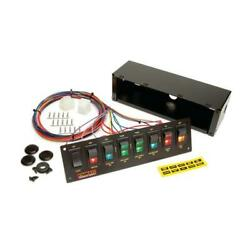 Painless Wiring 50202 8-switch Panel, Non-fused, Roll Bar Mount