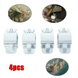 4x Clip Holders Butt Welding Clamps Sheet Metal Locator Positioners Supplies Kit