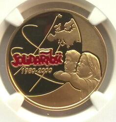 Poland 2000 Solidarity 200 Zlotych Ngc Pf69 Gold Coinproof