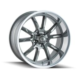 Cpp Ridler 650 Wheels 17x7 + 20x10 Fits Ford Mustang Falcon Galaxie