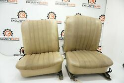 65-72 Mercedes 250s W108 Oem Front Right Left Leather Seats Assembly 1019