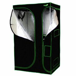 Yield Lab 48 X 36 X 80 2-in-1 Full Cycle Reflective Plant Grow Tent With View