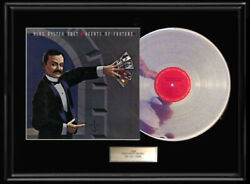 Blue Oyster Cult Agents Of Fortune Rare White Gold Silver Metalized Record