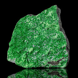 3.2 Sparkling Uvarovite Twinkling Emerald Green Crystals To 1mm Russia For Sale