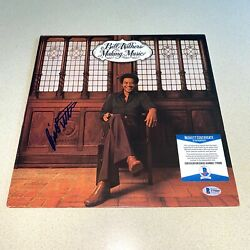 Bill Withers Signed Autographed Making Music Album Shes Lone Beckett Coa T79089