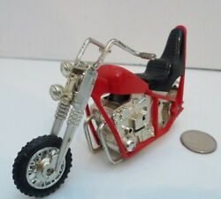 Vintage 1973 Kenner Ssp Ttp Turb-o-chopper Turbo Chopper Motorcycle Red And Black