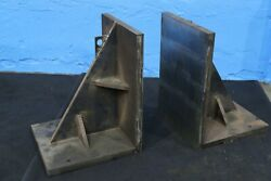 24 X 34 X 26 Set Of Steel Angle Plates Yoder 73518