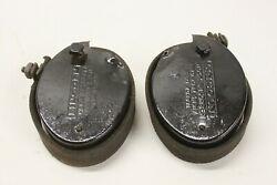 Original 1920's 30's Lincoln Accessory Snubber Type Shock Absorber Pair Lh Rh