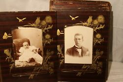 Antique Cabinet Photo Cards Children Boys Girls Lot Of 25 W/ Frameable Cards