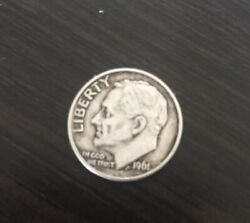 1961 Roosevelt Dime Js Silver Coin Collecting
