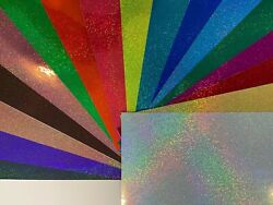 Stardust Holographic Hologlitter Sign Vinyl Choose Your Color And Size
