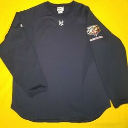 New York Yankees Therma Base Fleece W/2009 World Series And Champion Patch Size Xl