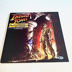 Harrison Ford Signed Autographed Indiana Jones Temple Of Doom Beckett A26229