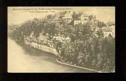 Chattanooga, Tennessee, Homes On Bluffs Of The Chattanooga Riverchattanogatn406