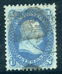 Us Scott 92 Used-xf-sup 1andcent F Grill W/ Pf And Pse Certs Dfp 4/20/20