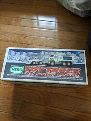 Hess Truck 2008 Toy Truck Amd Front Loader. Still In Box Good Condition.
