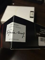 Limited Edition Virginia Woolf Fountain Ballpoint Pencil In Box Sealed