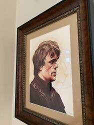Mike Mitchell Tyrion Lannister Print Game Of Thrones Framed Mondo Ap Art Print