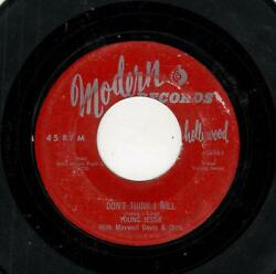 L.a.doowop/r And B-donand039t Think I Will/mary Lou-modern 961