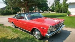 1966 Ford Galaxie 500 XL - Original Owner red red exterior interior