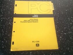 John Deere A50, A90, And A150 Portable Space Heaters Parts Catalog Pc-1358